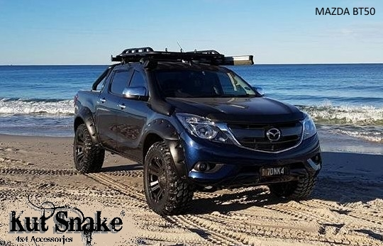 Mazda Lift Kits >> Kut Snake Monster Flare Kit - Mazda BT50