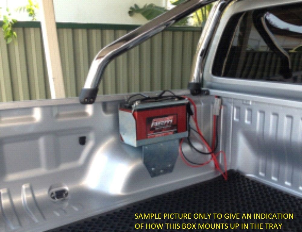 Roadsafe Multi Fit Tub Mount Battery Tray Toyota Hilux