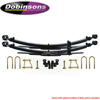 Dobinsons Raised Rear Leaf Springs - Toyota Hilux N80 2015-on