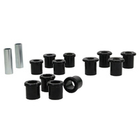 Whiteline Rear Spring Bushing Kit - Ford Courier PC, PD 4WD 1987-1999