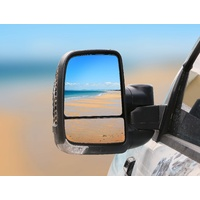 Clearview Next Generation Towing Mirrors - Holden Colorado 2002-2011, Rodeo 2003-2008, Isuzu D-Max 2002-2011