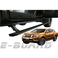 E-Board Electronic Retractable Side Steps - Nissan Navara NP300 Dual Cab