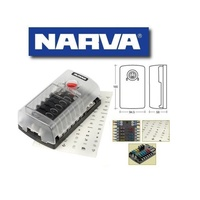 Narva 12 Way Stand Alone Fuse and Earth Block
