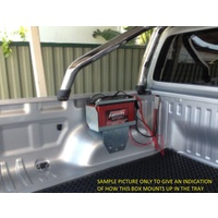 Roadsafe Multi-Fit Tub Mount Battery Tray - Mitsubishi Triton MQ, MR (04/2015-On)