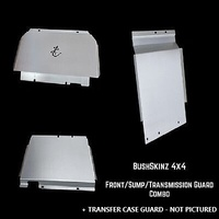 BushSkinz Front, Sump, Transmission & Transfer Case Guards - Mazda BT-50 (11/2011-On)