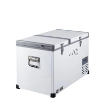 Evakool Dual Zone Glacier Metal Fridge/Freezer 74L