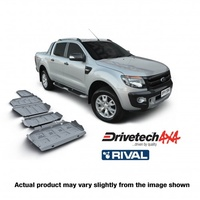 Drivetech 4x4/Rival Under Body Armour Bash Plate Kit - PX Ranger & Mazda BT50