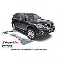Drivetech 4x4/Rival Under Body Armour Bash Plate Kit - Navara Patrol Y62