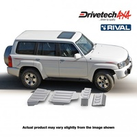 Drivetech 4x4/Rival Under Body Armour Bash Plate Kit - Patrol Y61