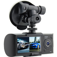 Axis Dual Camera Dash Cam DVR with GPS