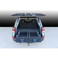 MSA Double Drawer System - Toyota Landcruiser 200 Series Wagon 2008-2015