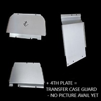 BushSkinz Front, Sump, Transmission & Transfer Case Guards - Ford Ranger PX1, PX2, PX3