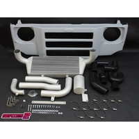 HPD Series 2 Front Mount Intercooler Kit - Toyota 70 Series Landcruiser 1HD-FTE
