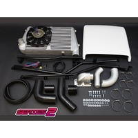 HPD Series 2 Top Mount Intercooler Kit  - Toyota Landcruiser 80 Series 1HZ & 1HD-T