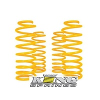 Front & Rear Raised King Springs Pair - Toyota RAV 4 4 Cylinder Petrol & Diesel (10/2012-On)