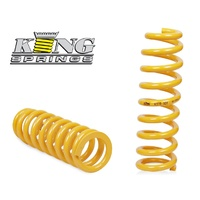 King Springs Rear Airbag-Coil Conversion Spring Pair - Prado Grande 120
