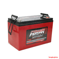 Power AGM 12v Deep Cycle Battery - 110AH