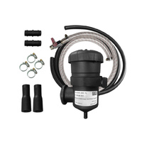 Mann+Hummel ProVent Oil Catch Can Kit - Universal kit to suit 16mm (5/8) Breather Hoses