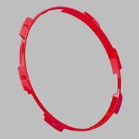 Pair Of Stedi Type-X Pro Colour Ring - Red