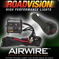 Roadvision Airwire Remote Controlled 20amp Wiring Loom