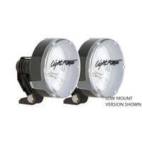Lightforce Lance 140 Halogen Driving Lights Twin Pack Low Mount