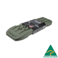 TRED 1100mm Recovery Tracks - Military Green