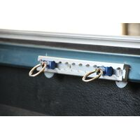 Safeguard Anchor Track - 300mm Twin Pack with Twin Rings