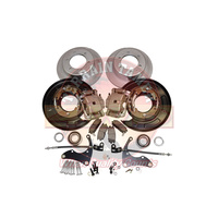Terrain Tamer Rear Disc Brake Conversion Kit - Toyota Hilux N80 2015-on