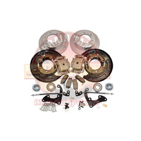 Terrain Tamer Rear Disc Brake Conversion Kit - Isuzu D-Max (2012-07/2020)