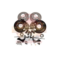 Terrain Tamer Rear Disc Brake Conversion Kit - Nissan Navara NP300 D23 2015-on