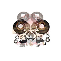 Terrain Tamer Rear Disc Brake Conversion Kit - Toyota Hilux N70 2005-2015