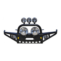 Xrox Comp-Style Bullbar - 75/78/79 Series Cab Chassis, ute & PC NOT VDJ **High Mount Winch**
